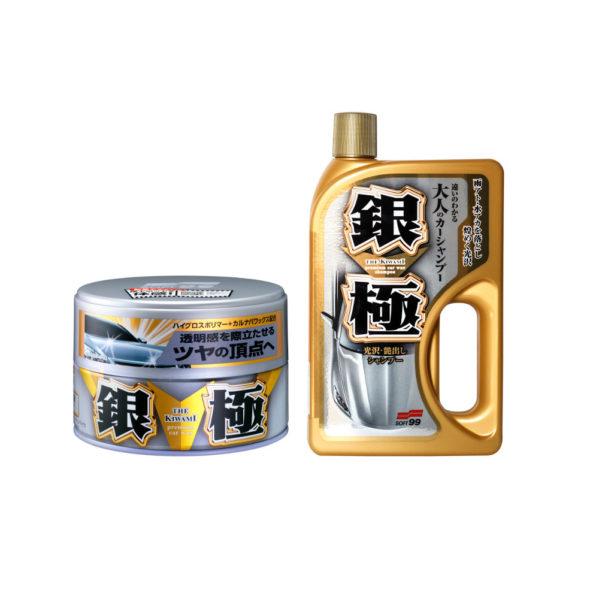Vahasetti – Soft99 Kiwami vaha + Shampoo Light 200 g   750 ml