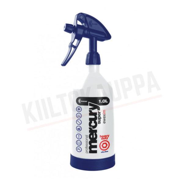 Suihkepullo – Kwazar Mercury Super Pro  ALKALINE