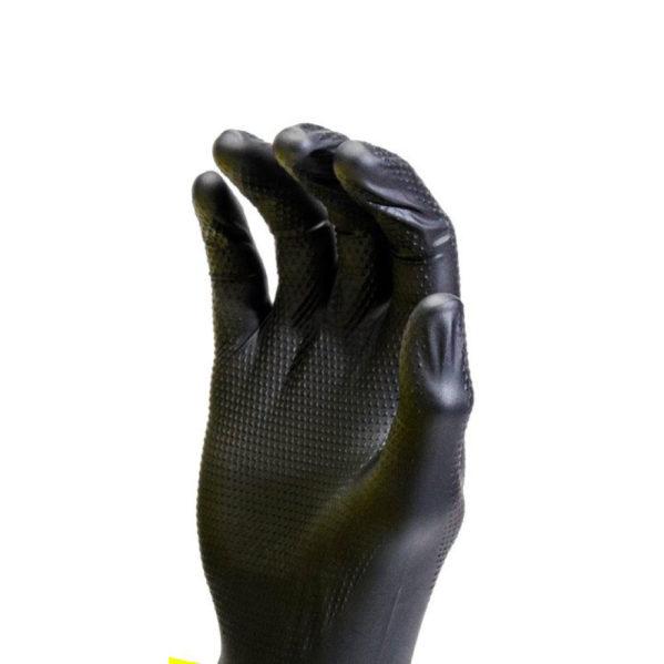 Nitriilikäsineet – Black Mamba Torque Grip – 10 paria