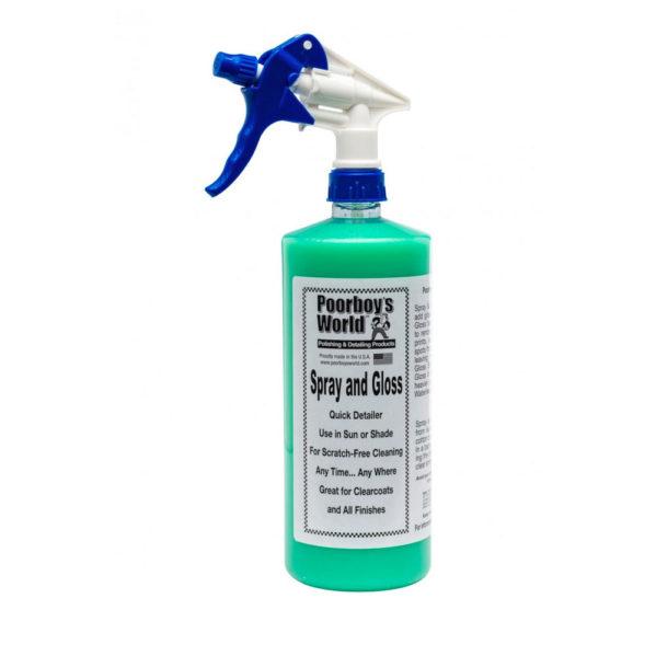Poorboy's World Spray and Gloss 473ml