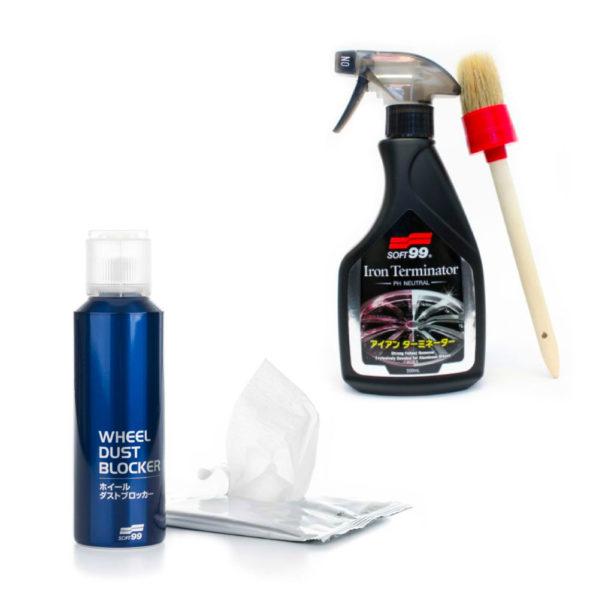 Vanteen puhdistus- ja pinnoitussetti – Soft99