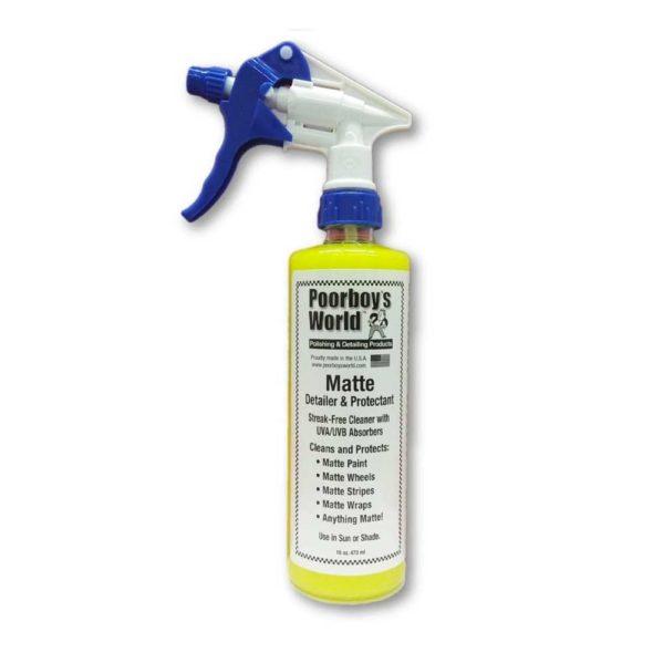 Mattapinnan puhdistus- ja suoja-aine – Poorboy's World Matte Detailer & Protectant