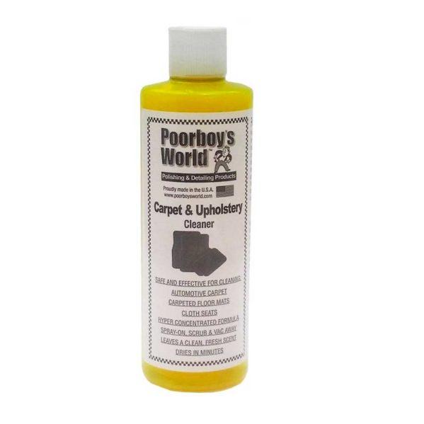 Verhoilunpuhdistustiiviste – Poorboy's World Carpet and Upholstery Cleaner