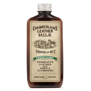 Chamberlain's Leather Milk No.02 – Syväpuhdistusaine nahalle 177 ml