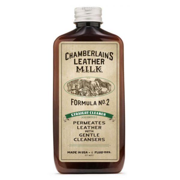 Chamberlain's Leather Milk No.02 – Syväpuhdistusaine nahalle 177 ml