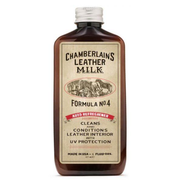 Chamberlain's Leather Milk No.04 – Hoitoaine nahkaisille auton istuimille 177 ml
