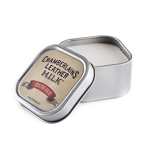 Chamberlain's Leather Milk Healing Balm – Hoitobalsami nahalle 118 ml