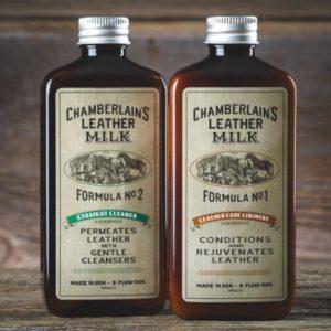 Chamberlain's Leather Clean + Cond – Puhdistus- ja hoitosetti nahalle