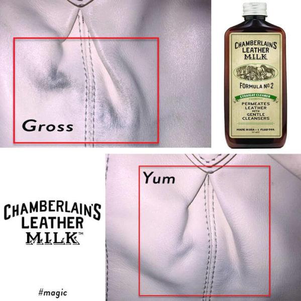 Chamberlain's Leather Clean + Cond + Prot – Puhdistus- ,hoito- ja kyllästyssetti nahalle