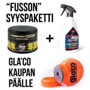 Fusson syyspaketti – Gla'co kaupan päälle!