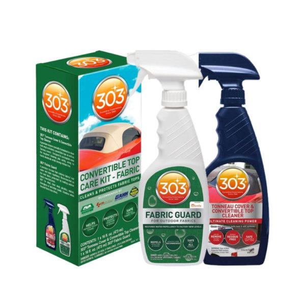 Kangaskaton puhdistus- ja suojaussarja – 303 Convertible Top Cleaning & Care Kit FABRIC