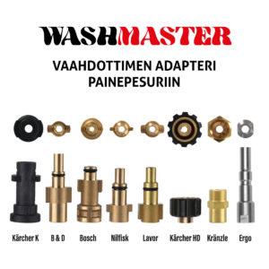Vaahdottimen adapteri painepesuriin – WashMaster