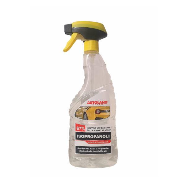 Isopropanoli IPA 67 % – Autoland™ – 0.75L
